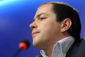 Гендиректор «Спартака» Роман Асхабадзе дает пресс-конференцию