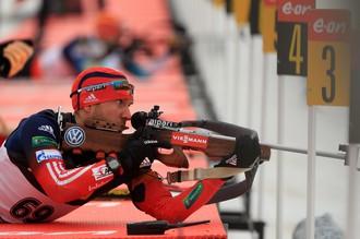 Евгений Гараничев стал шестым в последнем гонке Кубка мира по биатлону