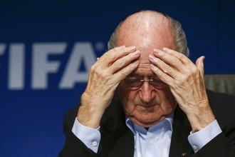 Тучи сгущаются над президентом ФИФА Зеппом Блаттером