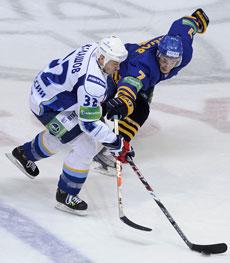 Алексей Кудашов в атаке