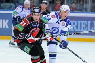 Московское «Динамо» и «Авангард» показали в Омске интересный хоккей.