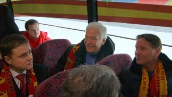 Слева направо: губернатор Владимир Груздев, Борис Грызлов и Дмитрий Аленичев