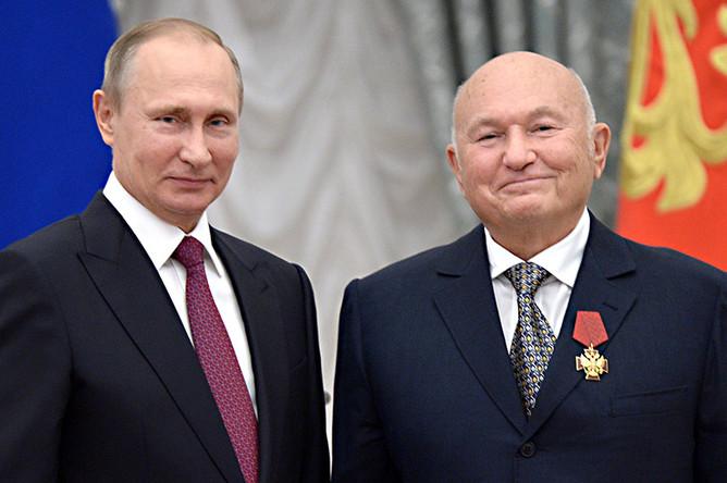 С бывшим мэром Москвы Юрием Лужковым