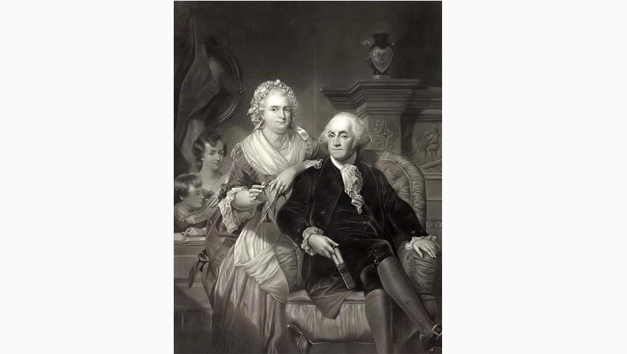 Джордж и Марта Вашингтон