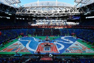 Церемония закрытия Кубка конфедераций — 2017 в Санкт-Петербурге