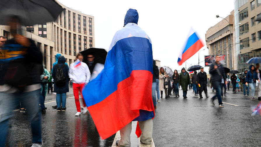 На проспекте Академика Сахарова в Москве начался согласованный митинг