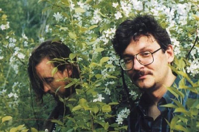 Егор Летов и Константин Рябинов