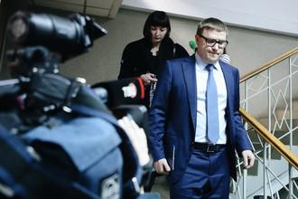 Первый замминистра энергетики России Алексей Текслер во время заседания по делу экс-главы Минэкономразвития Алексея Улюкаева в Замоскворецком суде Москвы, 13 ноября 2017 года