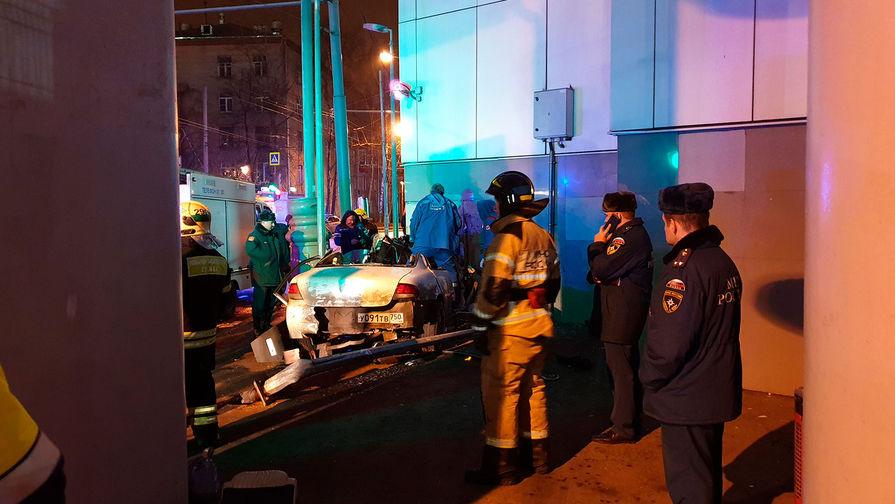 Влетел в станцию: пьяный водитель задавил трех человек у МЦК