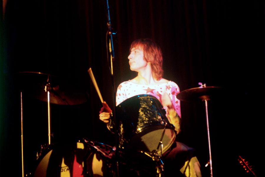 Чарли Уоттс наконцерте The Rolling Stones вГамбурге, 1970 год