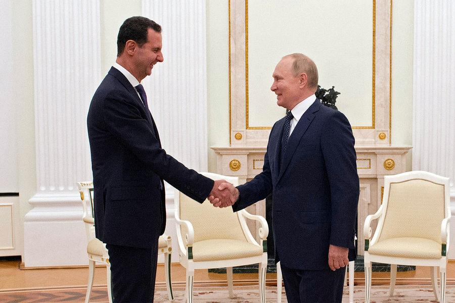 Путин Рё Асад провели переговоры РІРљСЂРµРјР»Рµ