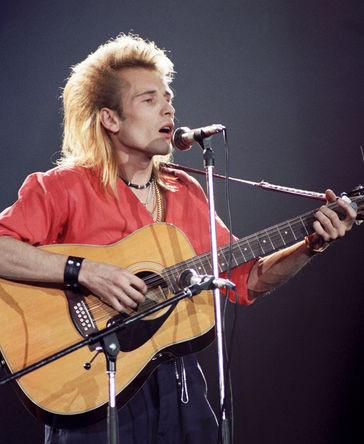 Певец Александр Малинин, 1987 год