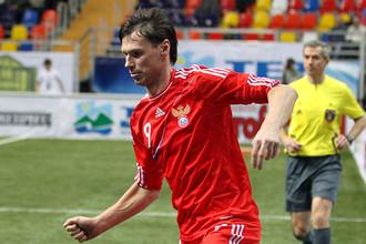 Егор Титов сделал хет-трик в финале Кубка легенд