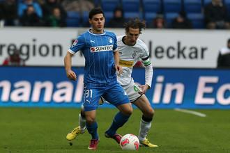 Кевин Фолланд забил победный гол менхенгладбахской «Боруссии»