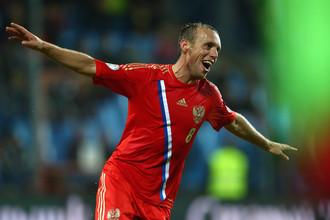 Денис Глушаков — лучший футболист России 2013 года по версии «Газеты.Ru»
