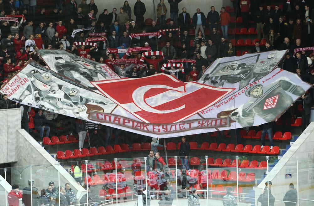 хоккейный клуб спартак адрес москва