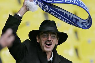 Михаил Боярский не расстается с шарфом любимого клуба