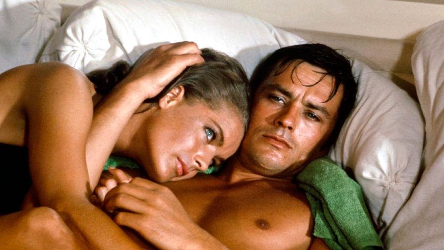 Ален Делон и Роми Шнайдер в фильме «Бассейн» (1969)