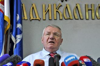 Лидер Сербской радикальной партии Воислав Шешель