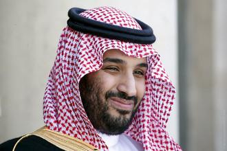 Министр обороны Саудовской Аравии принц Мохаммед бин Салман