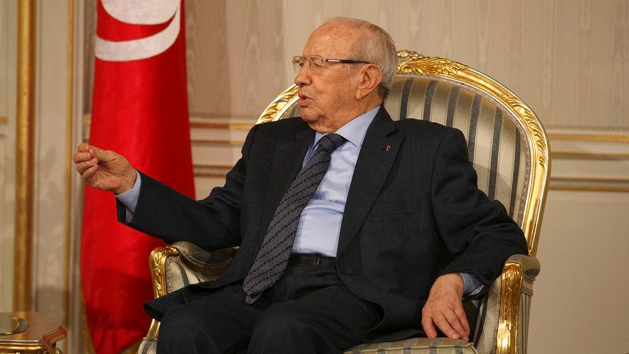В Тунисе сообщили о смерти президента