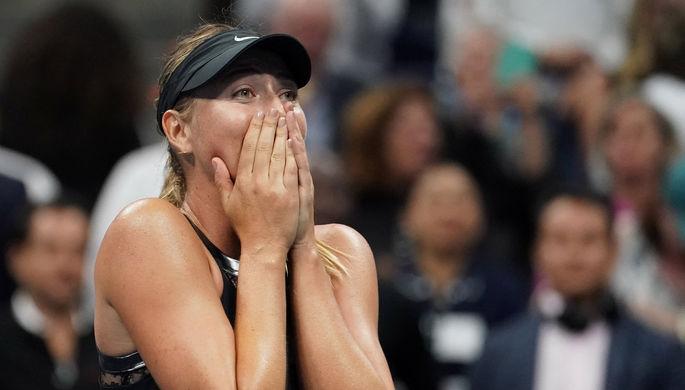 Мария Шарапова успешно вернулась на US Open, обыграв вторую ракетку мира Симону Халеп