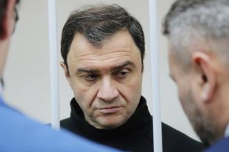 Бывший замминистра культуры Григорий Пирумов в Лефортовском суде, 12 декабря 2016 года
