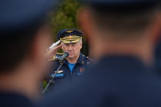 Главнокомандующий Воздушно-космическими силами РФ, Герой России, генерал-полковник Виктор Бондарев