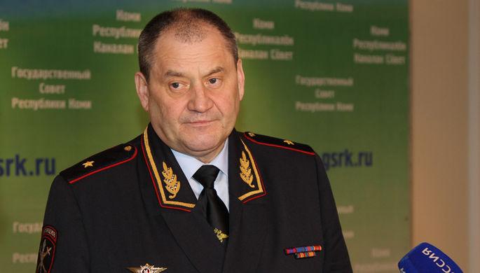 Министр внутренних дел по Республике Коми, генерал-майор полиции Половников Виктор Николаевич