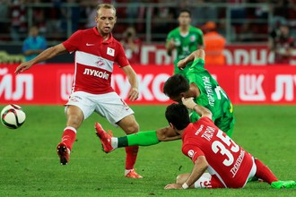 «Спартак» сразится с казанским «Рубином» в третьем туре чемпионата России по футболу