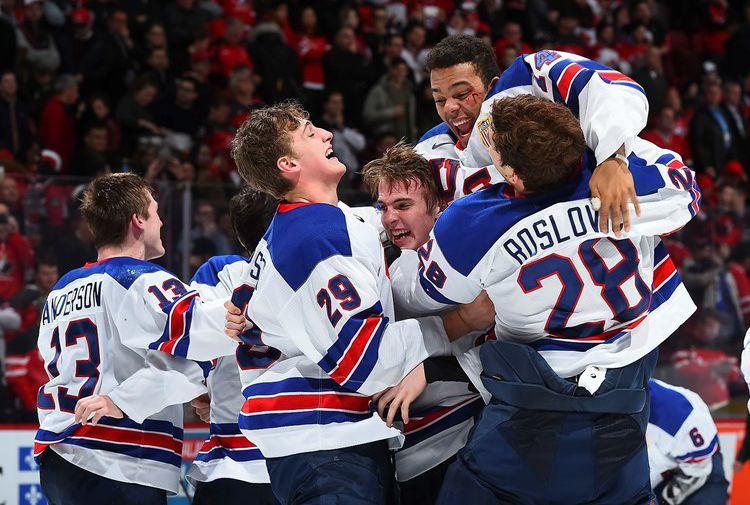 Сборная США стала победителем молодежного чемпионата мира по хоккею