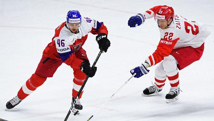 Хоккеист сборной Чехии Давид Крейчи