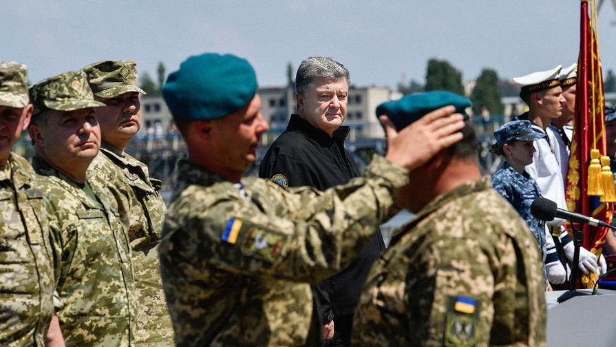 Почему украинские морпехи отказались надевать новые синие береты