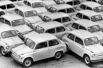 Автомобили ЗАЗ-965 «Запорожец», 1961 год