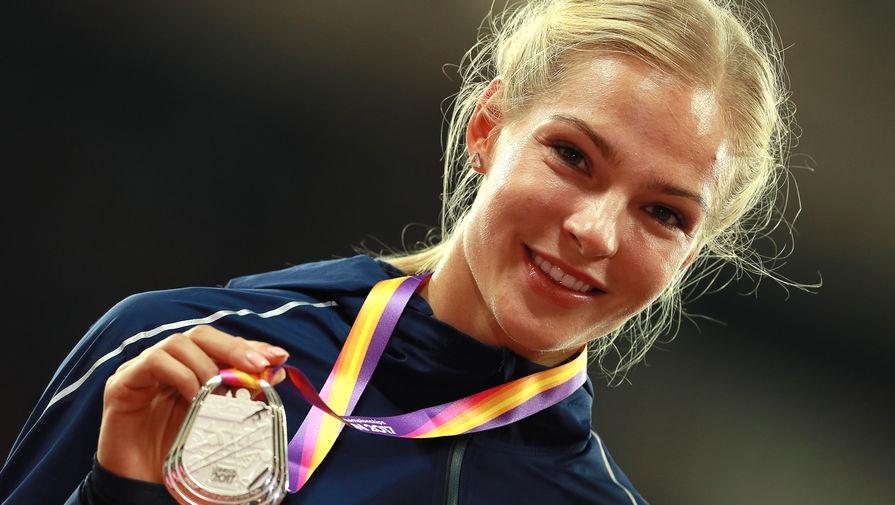 Прыгунья в длину Дарья Клишина выиграла серебро на ЧМ по легкой атлетике