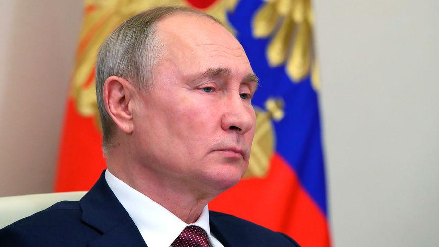 Путин присвоил звания генералов 26 сотрудникам силовых ведомств