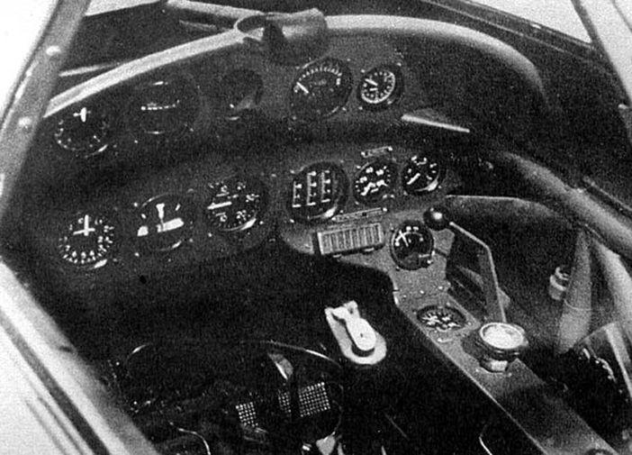 Кабина пилота Як-15