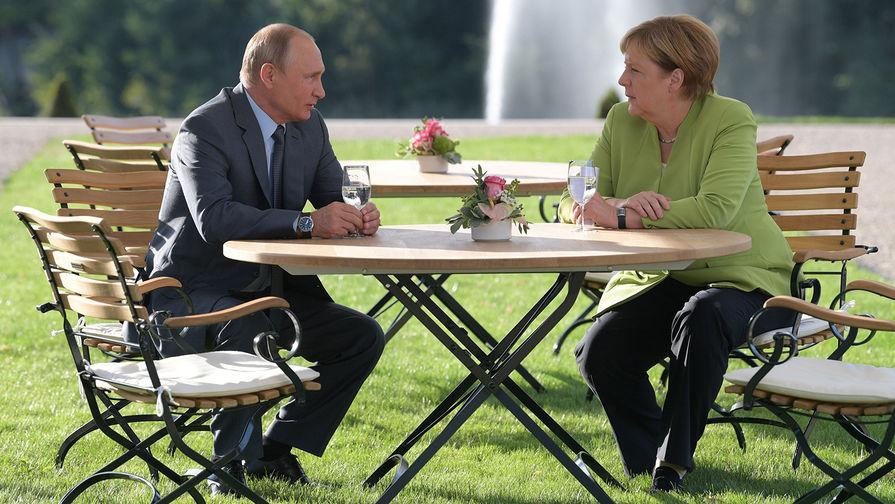 Путин и Меркель обсудили непредсказуемость в вопросе пошлин