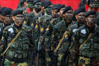 Учения во время переворота: как устроена армия Венесуэлы