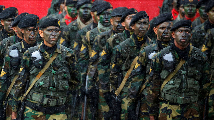 В Венесуэле проходят крупнейшие в истории страны военные учения