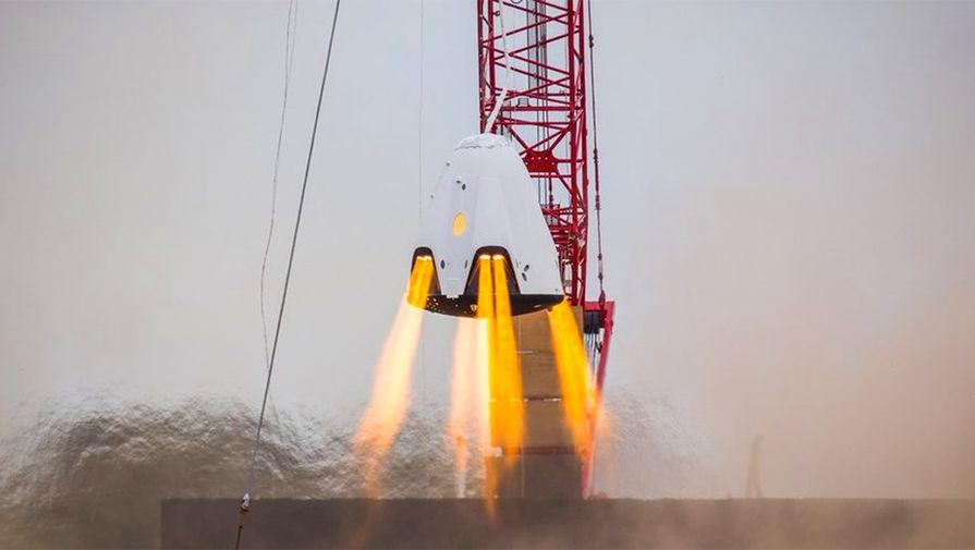 Названы сроки запуска Crew Dragon с экипажем к МКС