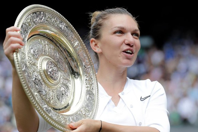 Румынская тениссистка Симона Халеп обыграла Серену Уильямс и выиграла Уимблдон, 13 июля 2019 года