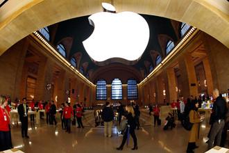 Apple получила самую высокую выручку за квартал
