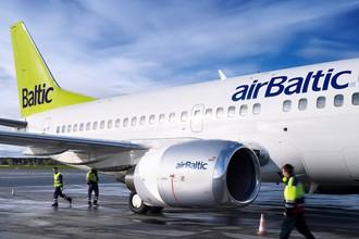 Генеральный директор airBaltic Мартин Гаусс