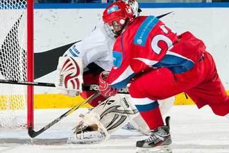 Юниорская сборная России выиграла перед чемпионатом мира три контрольных матча