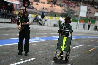 Во время свободной практики на Гран-при Германии