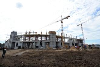 Строительство стадиона «Спартак» в Тушино