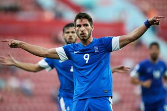 Один из самых ярких игроков чемпионата Димитриос Диамантакос
