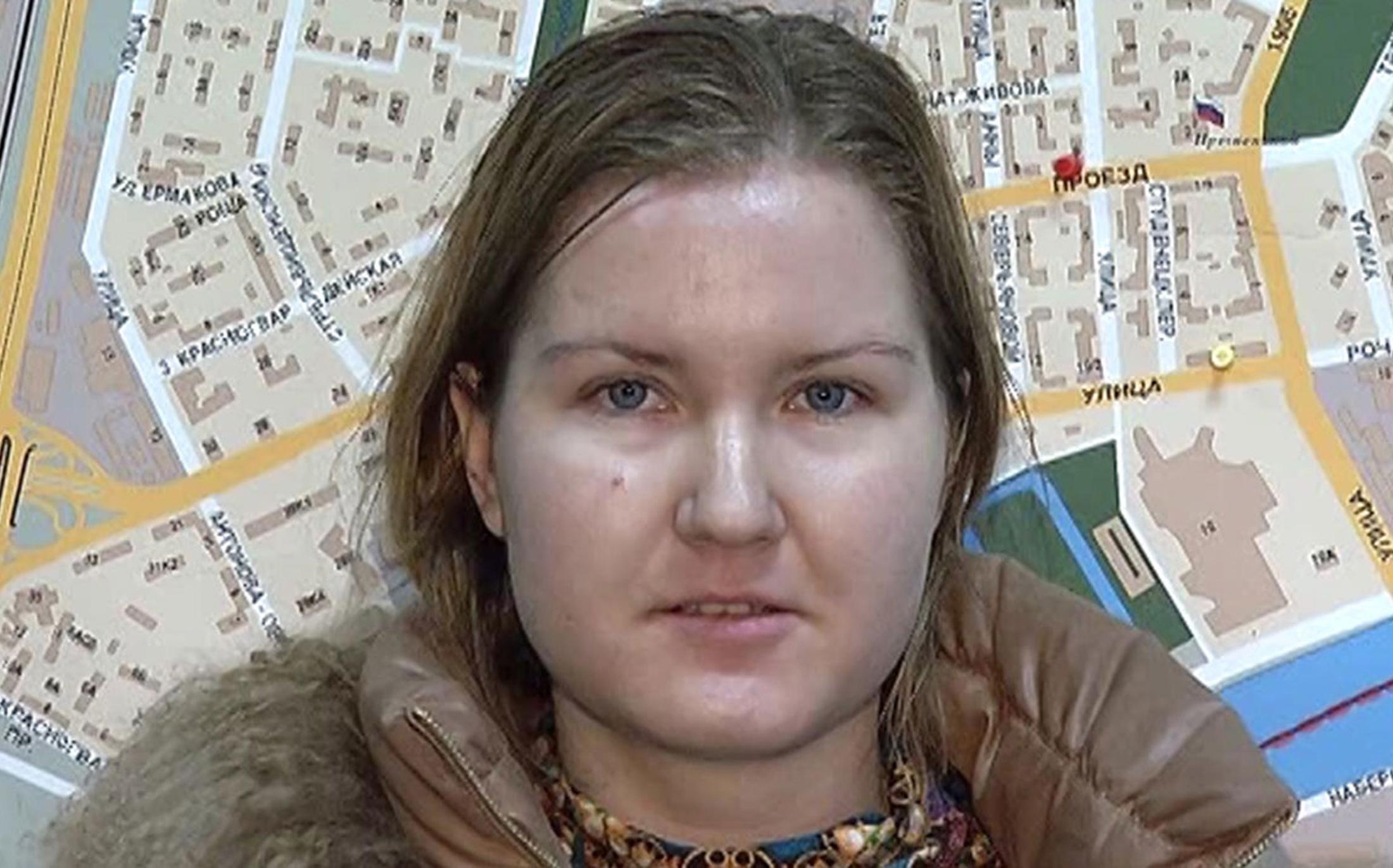 Девушка, подозреваемая в нападении на Олега Шеина. <br> Фотография: Пресс-служба ГУ МВД РФ