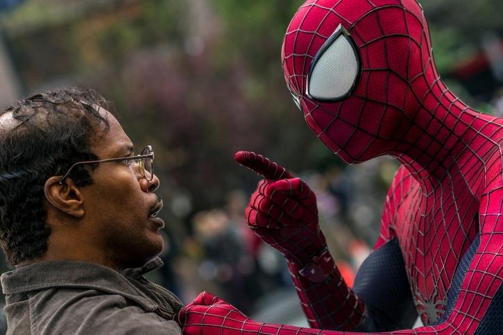 Кадр из фильма «Новый Человек-паук: Высокое напряжение». Источник: imdb.com